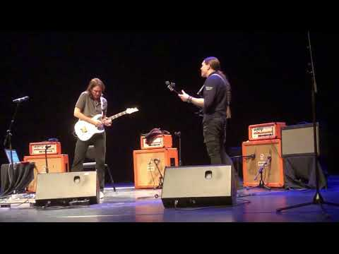 Live Video Samuli Federley and Steve Vai