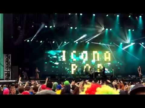 Icona Pop - Weekend (Live@Bråvalla) 4K