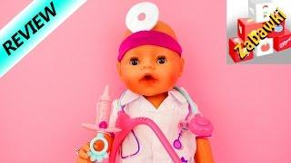 Baby Born zestaw lekarz ze stetoskopem i strzykawką