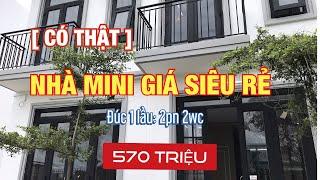 Bán nhà giá rẻ mini xinh đẹp ✅ đúc 1 lầu [2pn,2wc] 2019