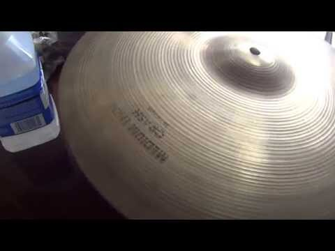 Zildjian Cymbal Cleaner VS Paint Thinner/ Mineral Spirits