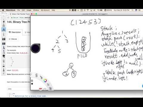 LeetCode 144  Binary Tree Preorder Traversal - GoodTecher