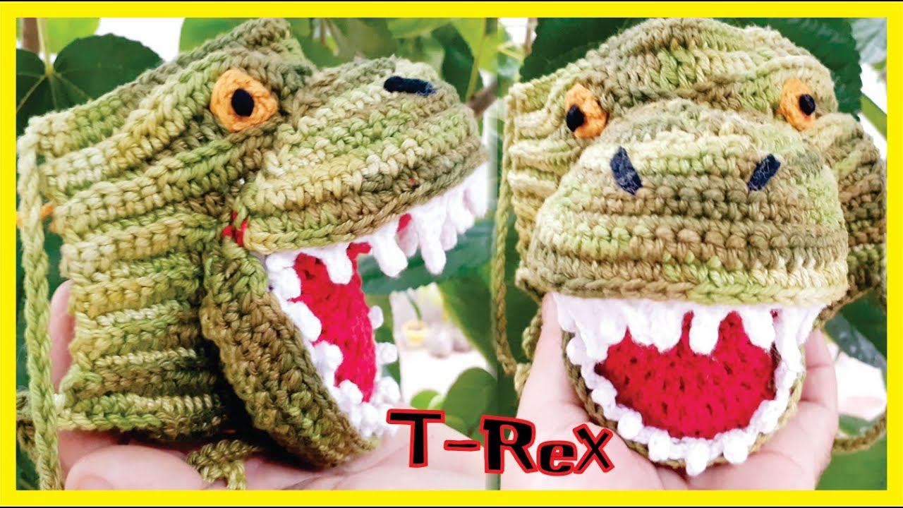 FREE PATTERN: Arlo from 'The Good Dinosaur' | Dinossauro de crochê ... | 720x1280