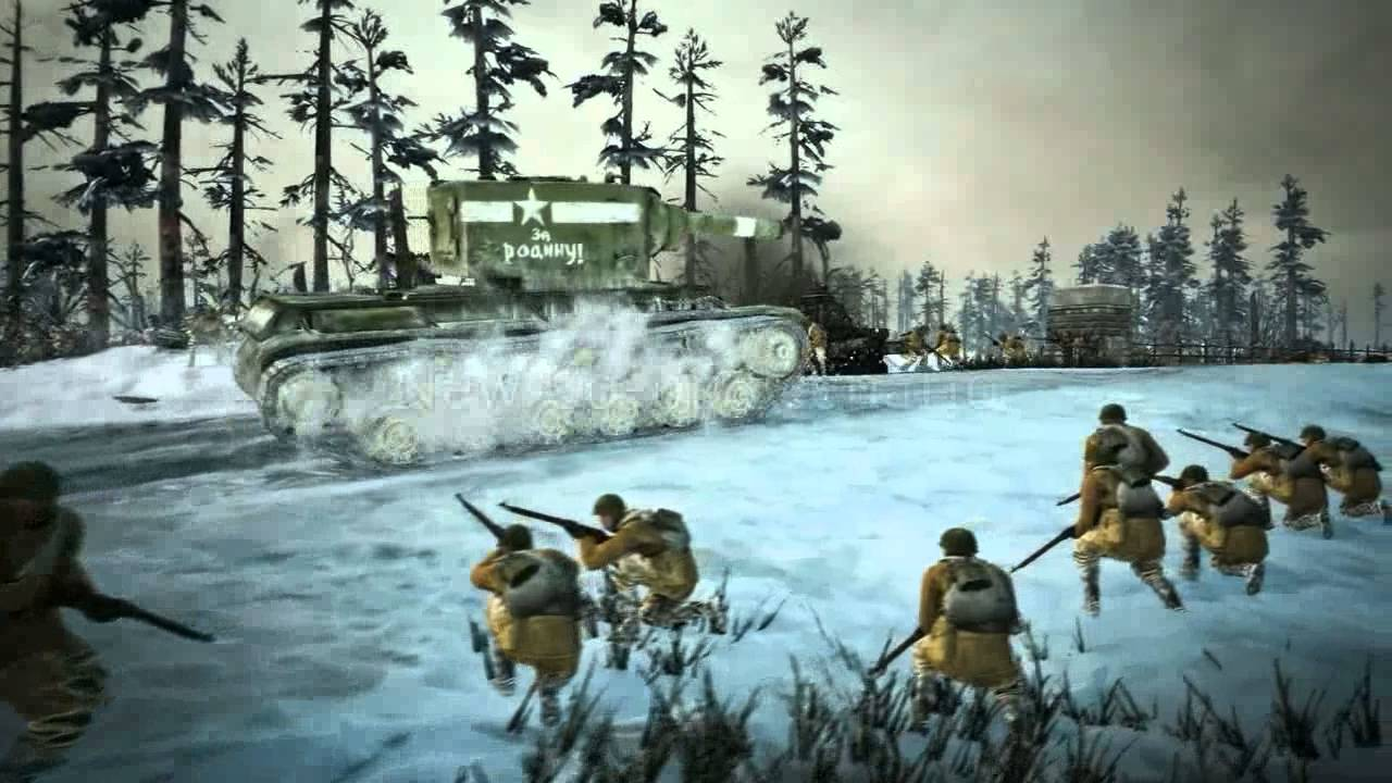 Case Blue Company Of Heroes 2 : Company of heroes 2 case blue trailer youtube
