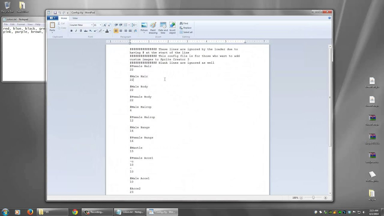 Sprite Creator 3 - Adding Your Own Custom Images