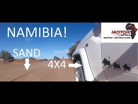 We drove around NAMIBIA for two weeks!