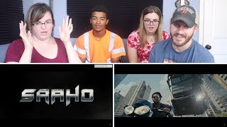 Saaho Trailer REACTION! | Prabhas | Shraddha Kapoor | Sujeeth