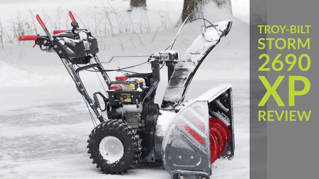 Reviewing the Troy-Bilt Storm 2690 XP snowblower