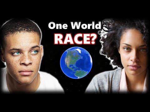 What Will Happen When The World Becomes 'One Mixed Race?' Future Genetics Of The World?