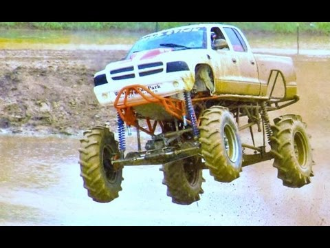 MUD STICK MEGA TRUCK AIRS IT OUT