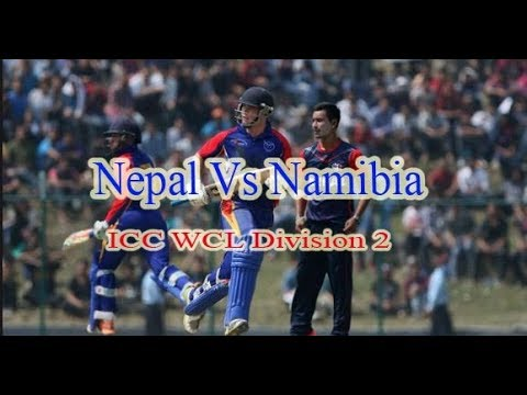 Nepal Vs Namibia :  ICC World Cricket League Division Two