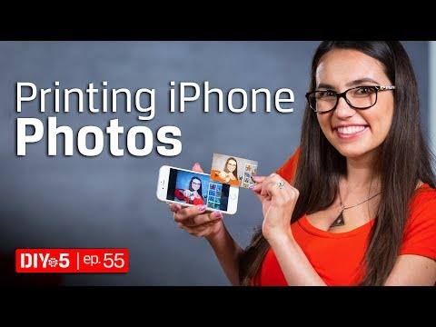 iPhone Tips - iPhone Printer and other Ways to Print Photos 🖨 DIY in 5 Ep 55