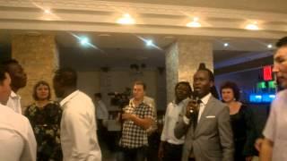 Вчера на свадьбе у друга-африканского футболиста ) Казахстан, Актобе