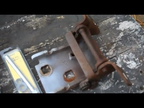Chevy Gmc C10 Door Hinge Repair 73 87 Door Hinges Youtube