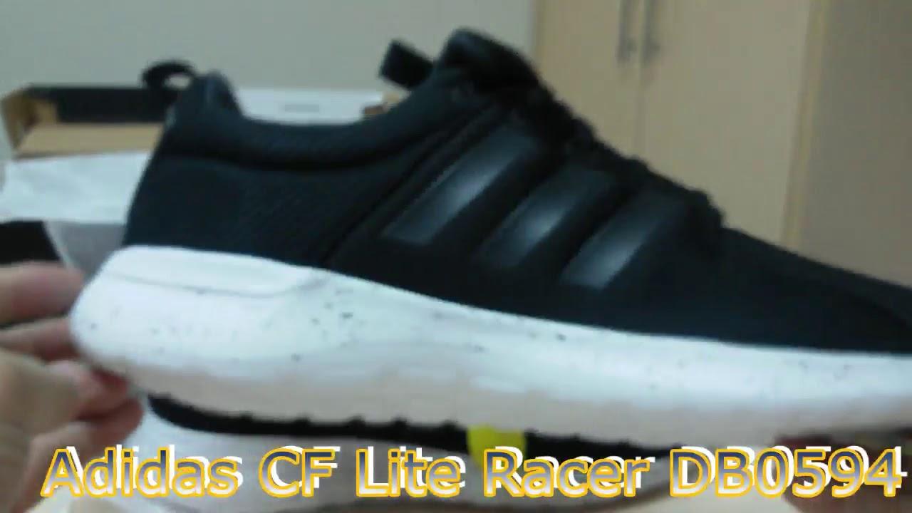 Unboxing Sneakers Adidas CF Lite Racer DB0594