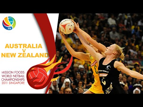 Final I Aus V NZ I World Netball Championships 2011