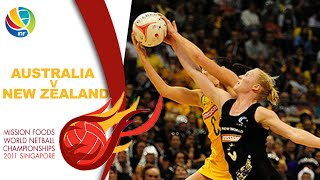 Final I Aus v NZ I World Netball Championships 2011