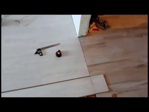 Стык ламината и плитки без порога, как это сделать.