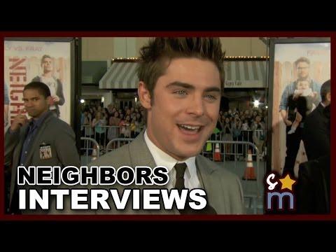 NEIGHBORS Premiere Interviews: Zac Efron, Dave Franco, Seth Rogen, Halston Sage