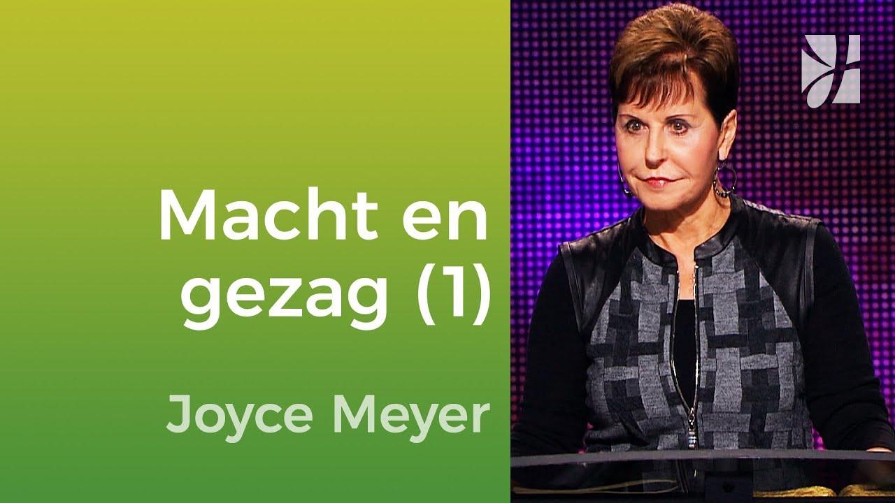 Macht en gezag (1) – Joyce Meyer – Met Jezus in je dagelijks leven