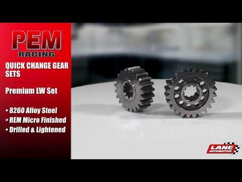 PEM Quick Change Gear Sets