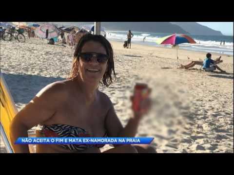 Homem é condenado a 22 anos de prisão por matar namorada na praia