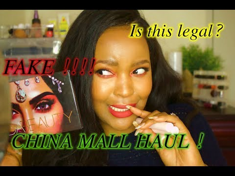 China Mall Makeup Haul !! is this even legal ?