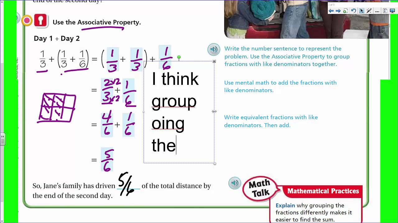 worksheet Properties In Math go math 5th lesson 6 11 properties of addition youtube addition