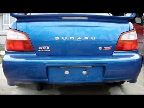 Cherry Bomb muffler on Subaru STi - Sound Clip