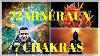 72 MINERALS revealed to balance your 7 CHAKRAS!