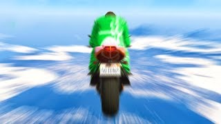 HOW TO GO 1000MPH WITH A BIKE! (Gta 5 Funny Moments)