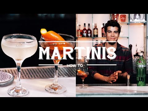 How to Make different Types of Martinis