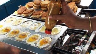 Egg Cake   Amazing Street Food   Egg Recipes
