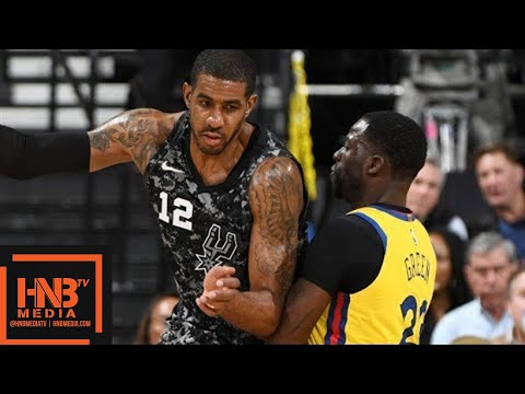 Golden State Warriors vs San Antonio Spurs Full Game Highlights / March 8 / 2017-18 NBA Season