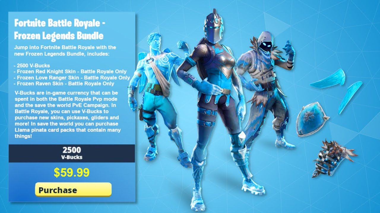 How To Get New Frozen Legends Bundle In Fortnite New Frozen