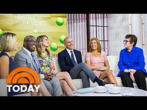 Billie Jean King Talks About Being Played By Emma Stone In 'Battle Of The Sexes' | TODAY