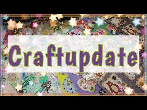 Craftupdate,Resin,Harzanhänger und Card Candys/3D Sticker/Embellishments