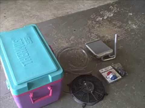 12 Volt Portable Van Ac Mighty Kool Air Conditioner Out