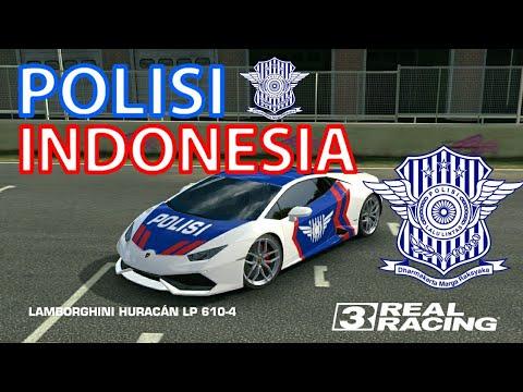 Real Racing 3|Tuning Lamborghini Huracan LP 560-4|Polisi Indonesia