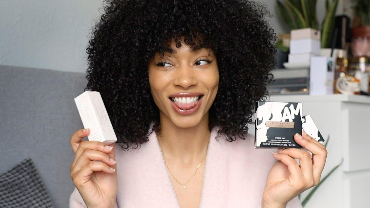 Fenty Beauty Cheeks Out Cream Blush + Bronzers + Purrrl Match Stix | Swatches