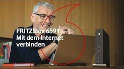 Homebox FRITZ!Box 6591 - Mit dem Internet verbinden    #kabelhilfe