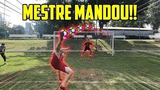 O MESTRE MANDOU FAZER 3 GOLS DE BICICLETA!! ( conseguimos!? )