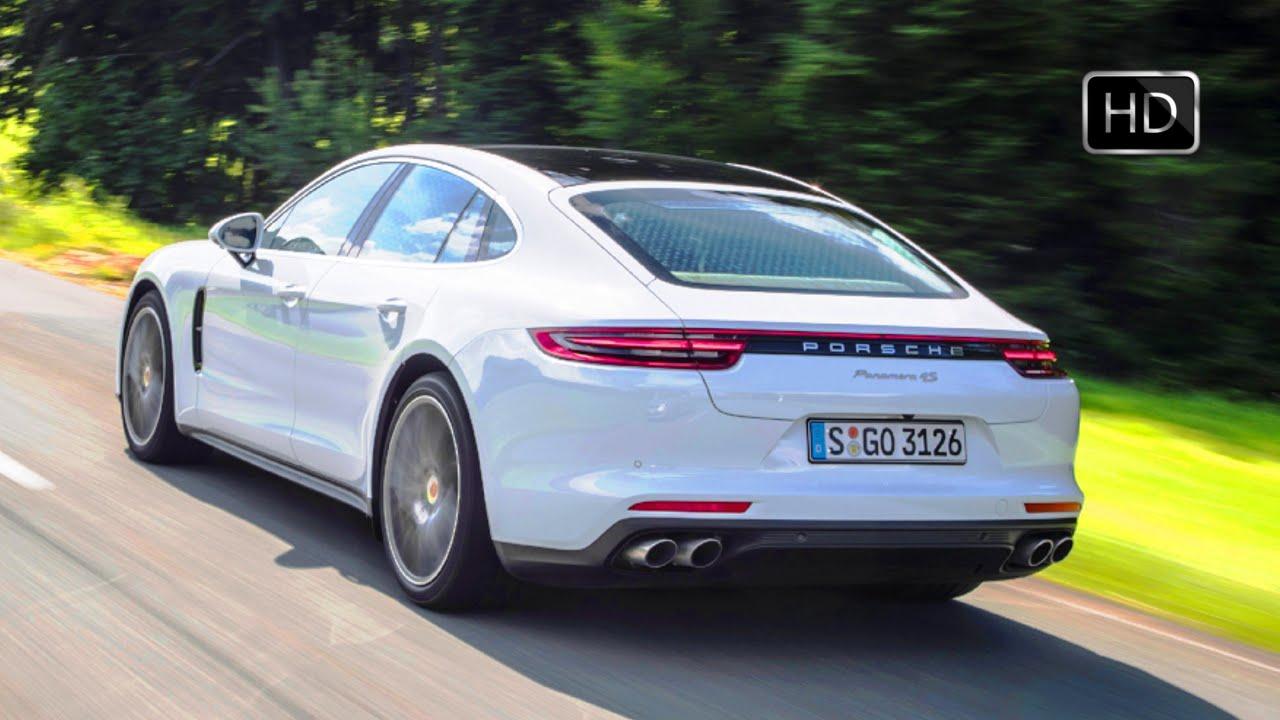 2017 Porsche Panamera 4S Diesel White Exterior