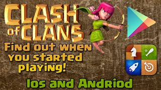 Clash of Clans: How to Find Out When You Started Playing!