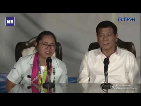 Pres. Duterte hails heroism of Olympian Diaz; gives PHP2M additional prize