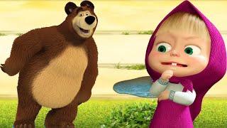 СУПЕР Забег Маши и Медведя КТО БЫСТРЕЙ КТО КРУЧЕ Игра Для Детей