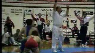 1997 Freestyle World Cup Kendall Cross (USA) vs. Murad Umakhanov (Russia)