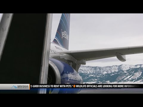 The sky is the limit: Jet Blue debuts in Bozeman
