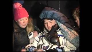 Expedition 45 Crew Lands Safely in Kazakhstan