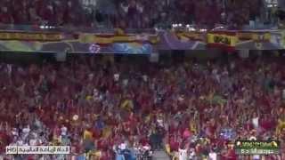 Spain VS Italy 4-0 (Euro 2012 Final).1-7-2012 HD